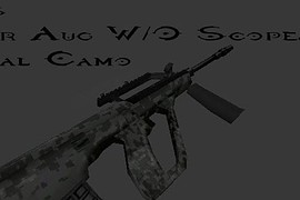 Steyr Aug Digital Camo w o Scope