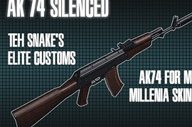 Millenia AK74 silencer functions