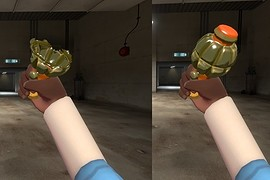 Worms 3D Cluster Bomb