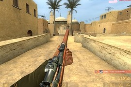 Mosin Nagant M1891/30 replace AWP