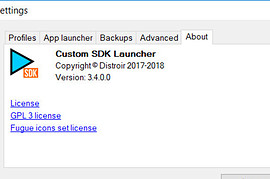 Custom SDK Launcher 3.4.1