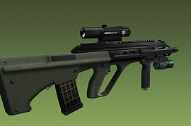 Philibuster s AUG A3