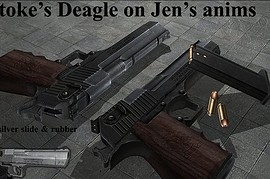 stoke's deagle on jens!! anims