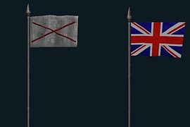 Nazi_and_British_Flags