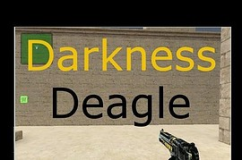 Darkness Deagle with Gold