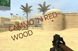 Cammo'n Red Wood