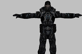 Gears of War Marcus Black