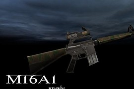Twink s M16A1 Recolor+Aimpoint