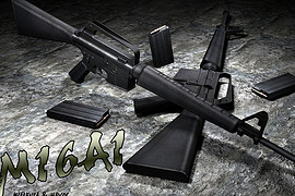 AntiPirate s M16A1 anims