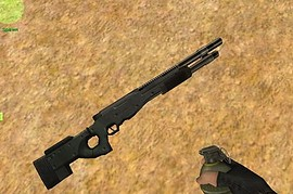 Arctic Warfare Pumpgun (AWP)