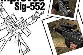 Improved Sig552 Commando