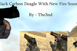 Black Carbon Fiber Deagle