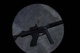 Tactical M1A1 SMG