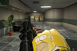 Happy_Camperґs_Homer_Simpson_Gloves