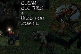 Clean_Clothes+_Head_For_Zombie