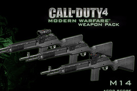 Call of Duty 4 M14