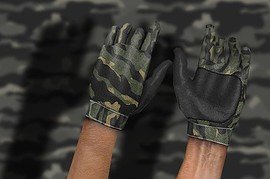 Woodland_Camo_Leather_Gloves