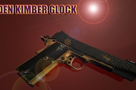 GOLDEN KIMBER GLOCK