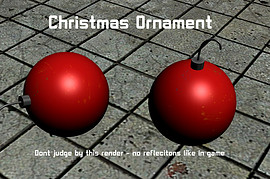 Christmas Ornament(HL2)