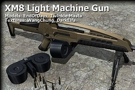 XM8 Light Machine gun