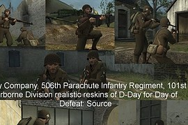 Easy_Company_D-Day_Skins