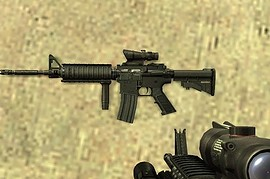 Tactical M4A1 For AUG