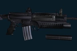 ZM Weapons LR-300 (w Grenade Launcher)