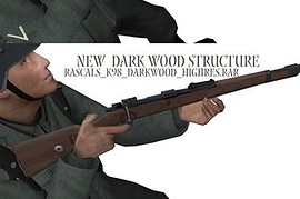 K98k_-_2_Hi_Res_Skins_(new_Wood__Dark_Wood)