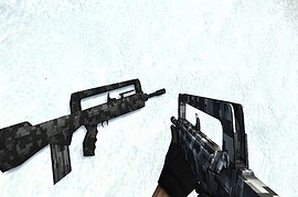 Famas Winter Camo