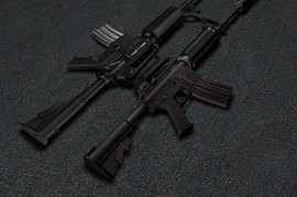 Ank  CJ s M4 And Ultimate M4 on Jen anims
