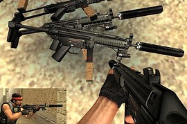 MP5 With M4 Anims