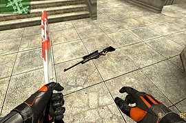 BlackFire Awp with red dot!
