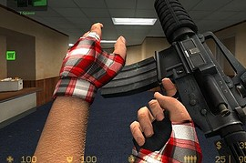 Happy_Hour!_s_plaid_gloves