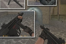 HK mp5 SD Lasered (ON OFF)