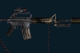 Black Hawk Down M4A1 (w aimpoint w strap)