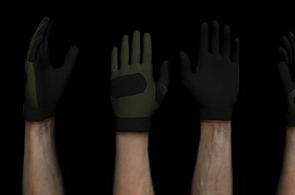 Olive_Nylon_Gloves