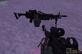 Urban Warfare Series M249