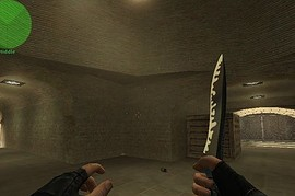 Chrome_And_Black_Knife
