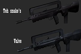 Default Famas retextured