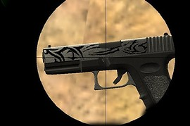 Two Tone Tribal Glock 19