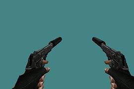 Boondock Saints Dual Silenced M9s