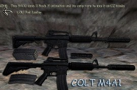M4A1 on X Rock X anims
