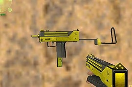 Two Tone Gold Mac-10