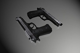 Two-tone Beretta Elites