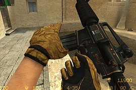 m4a1_Orange_Stripes