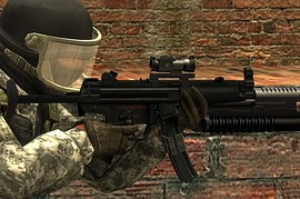 MP5 Default Anims M203