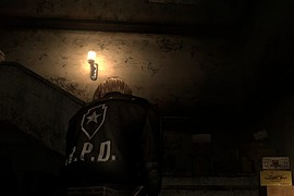 Leon in R.P.D. Black Suit HD
