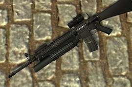 M16A4 M203 AIM LAM books Anims