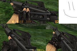 The Folding-Stock M4a1 For Cs!
