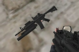 M4A1 Max With Working Lam